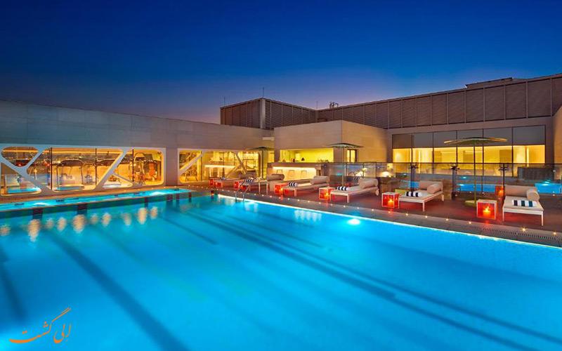 هتل آماری در دوحه | استخر