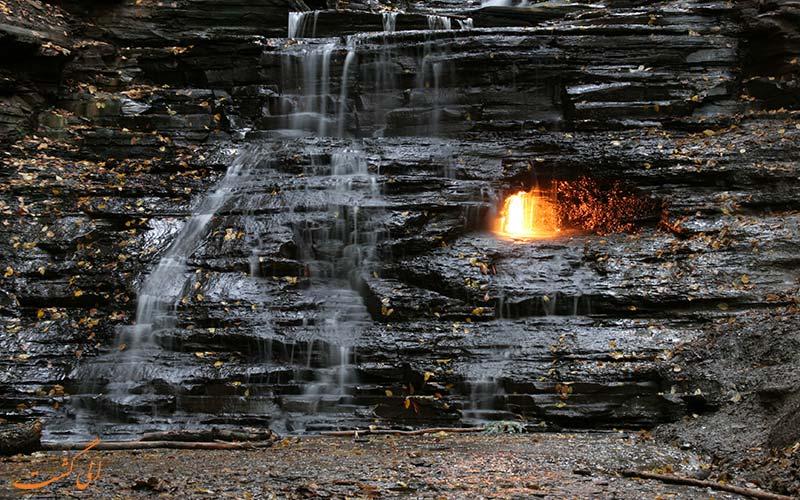 آبشار شعله ابدی