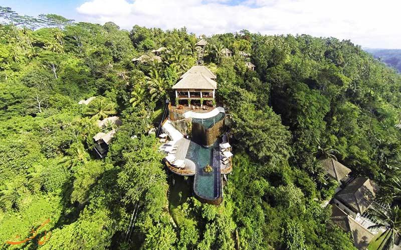 هتل هنگینگ گاردن بالی | نمای کلی