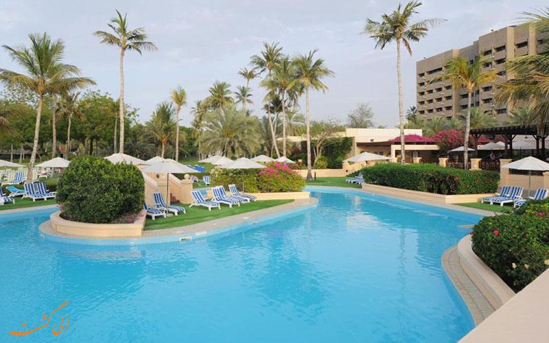 هتل اینترکنتینانتال مسقط عمان   استخر