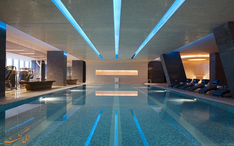هتل جی دبلیو مریوت پکن | استخر