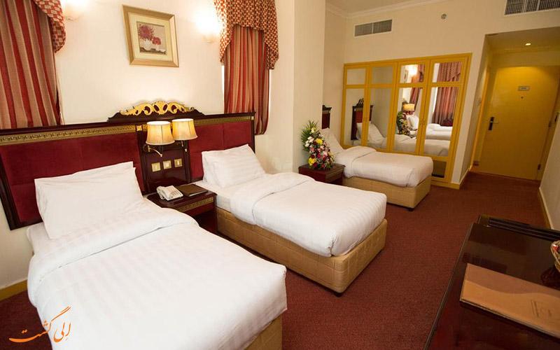 هتل کامفورت این دیره دبی | اتاق تریپل