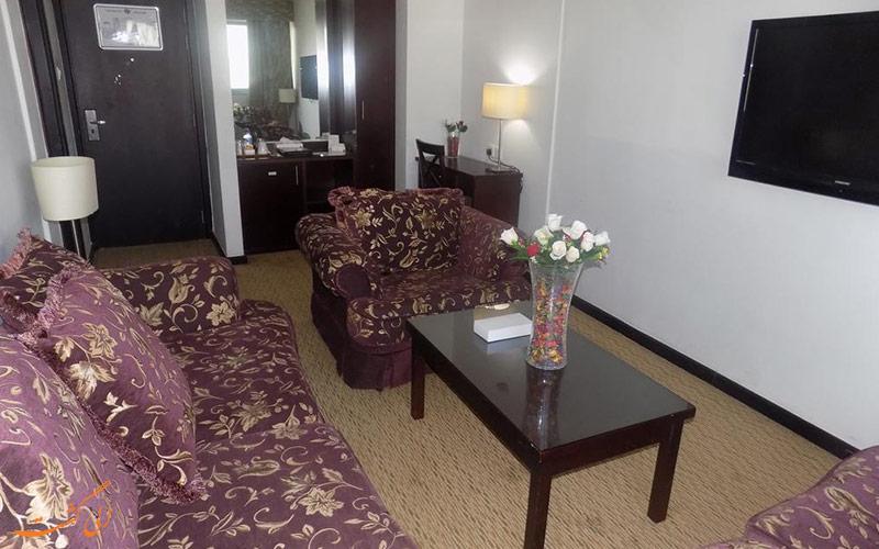 هتل دریم پالاس در دبی | نشیمن اتاق