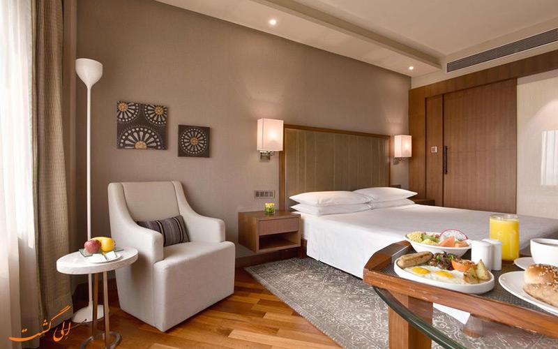 هتل حیات ریجنسی دهلی | نمونه اتاق
