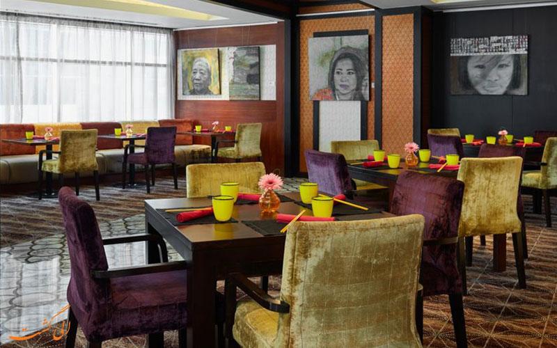 هتل اینترکنتینانتال د سیتی دوحه   رستوران