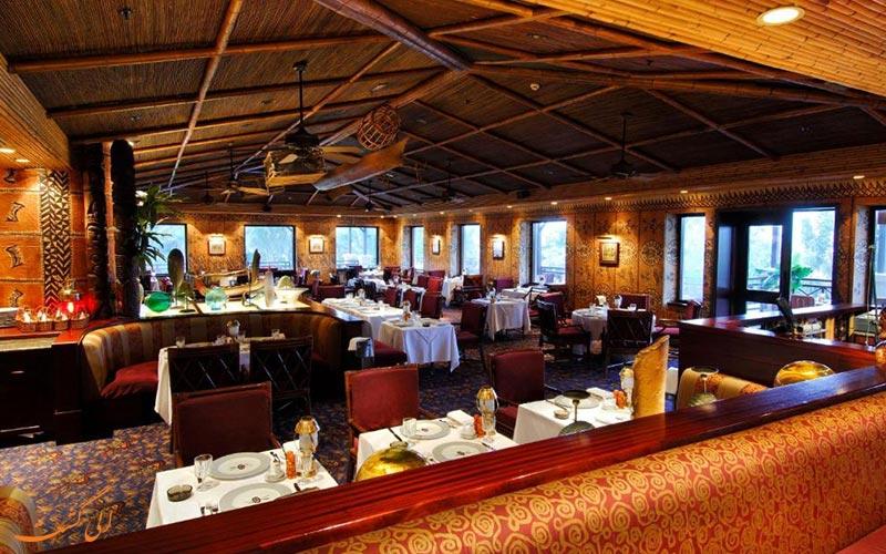 هتل اینترکنتینانتال مسقط عمان   رستوران