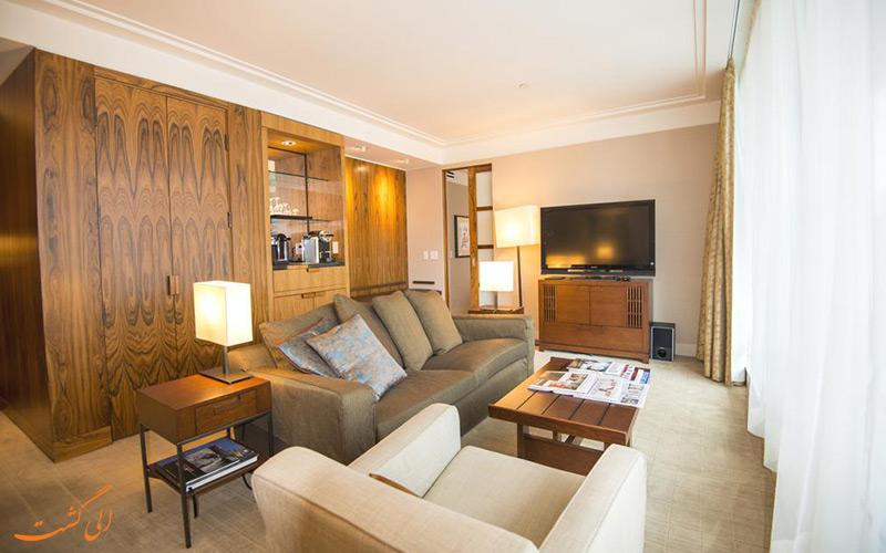 هتل شانگری لا ونکوور | نمونه سوییت