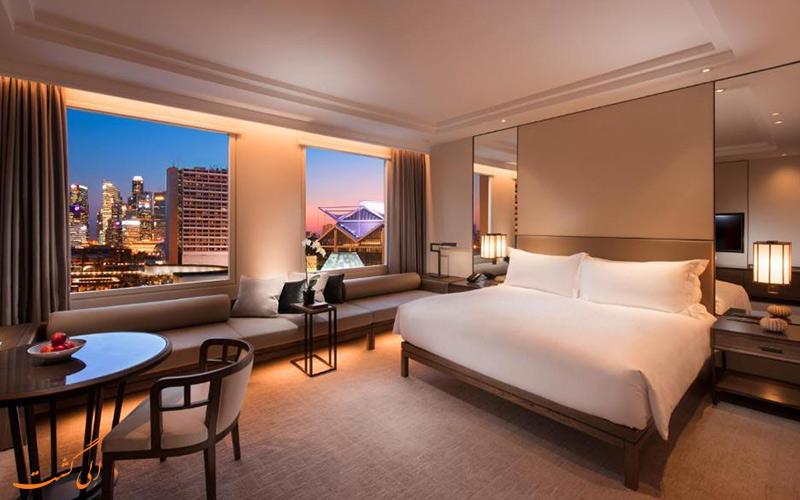 هتل کنراد سنتنیال سنگاپور | نمونه اتاق