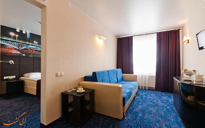 هتل اوختینسکایا سنت پترزبورگ | سوئیت