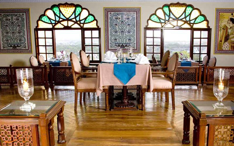 هتل کلارکس امر جیپور | رستوران