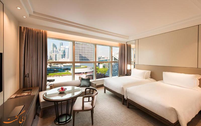 هتل کنراد سنتنیال سنگاپور | اتاق