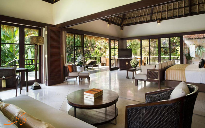 هتل هنگینگ گاردن بالی | نشیمن