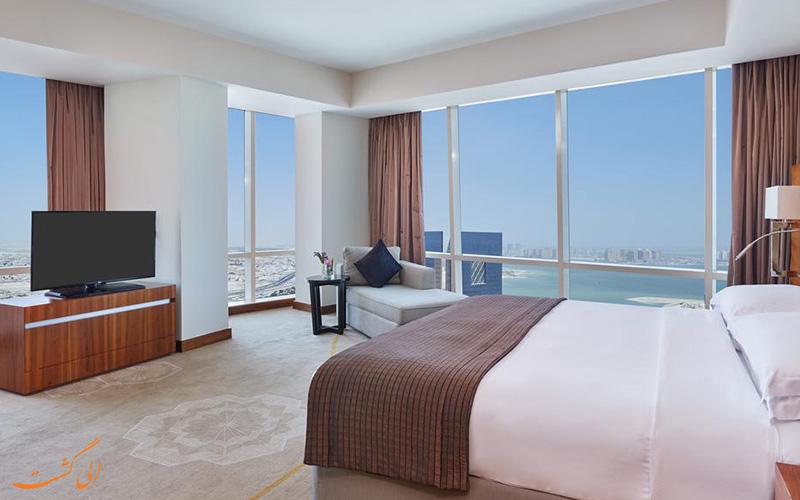 هتل اینترکنتینانتال د سیتی دوحه   اتاق