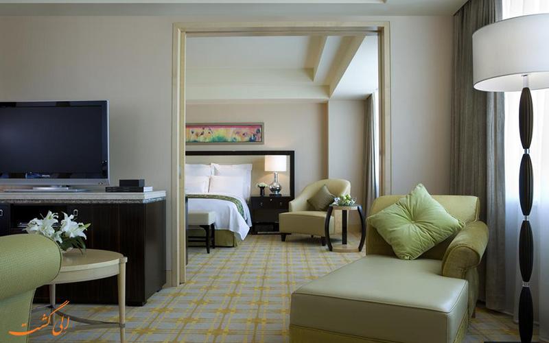هتل جی دبلیو مریوت پکن | نشیمن اتاق
