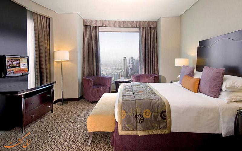 هتل رز ریحان بای روتانا دبی | نمونه اتاق