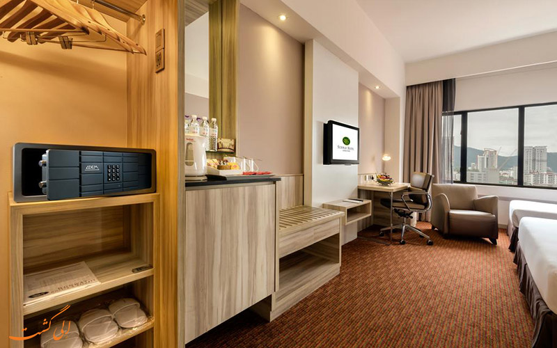 هتل سان وی جورج تاون پنانگ   امکانات اتاق