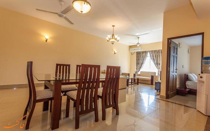 هتل سوپون آرکید رزیدنسی کلمبو | بخش ناهارخوری