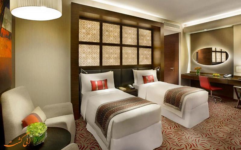 هتل آماری در دوحه | اتاق تویین