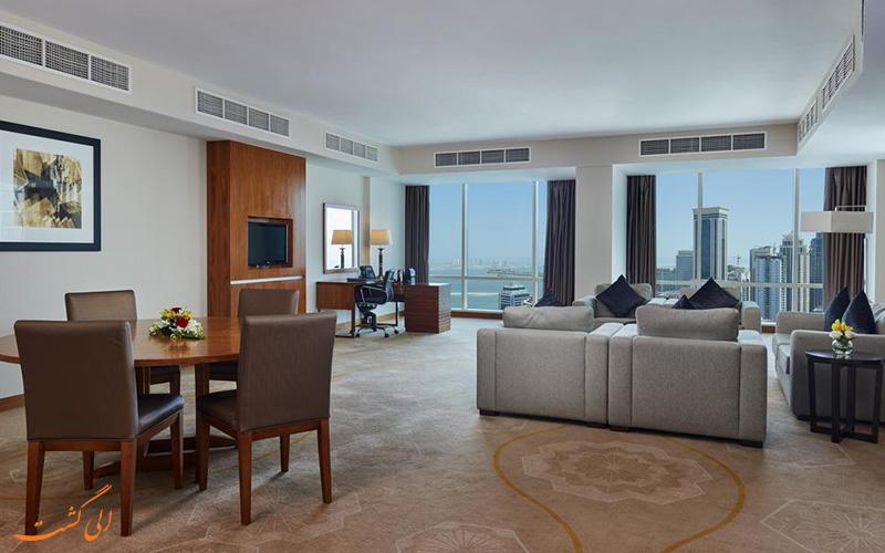 هتل اینترکنتینانتال د سیتی دوحه | سوییت