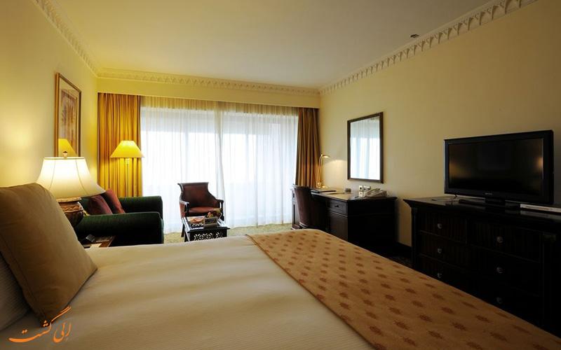 هتل اینترکنتینانتال مسقط عمان   نمونه اتاق