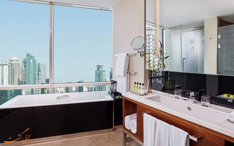 هتل اینترکنتینانتال د سیتی دوحه | سرویس حمام