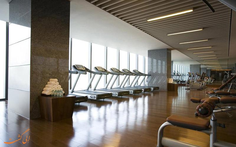 هتل جی دبلیو مریوت پکن | باشگاه بدنسازی
