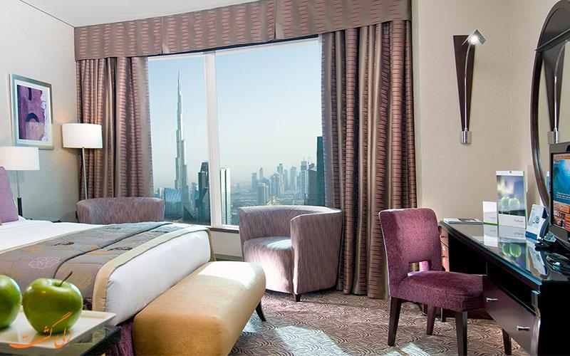 هتل رز ریحان بای روتانا دبی | نمونه اتاق 2