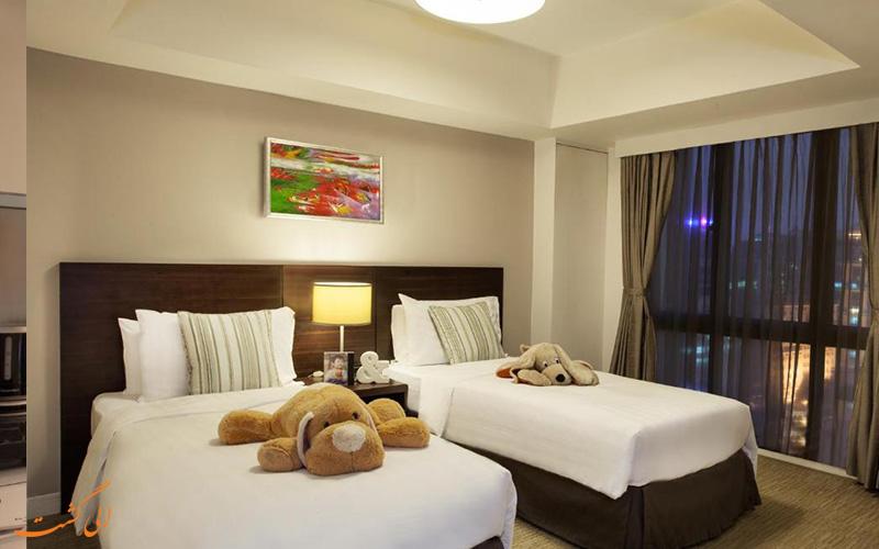 هتل سامرست گرند هانوی | اتاق تویین