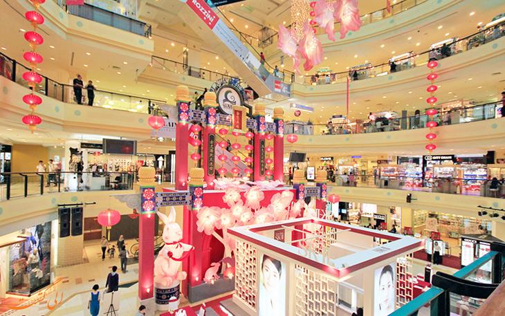 مراکز خرید شهر پنانگ