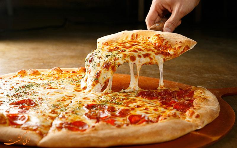 درست کردن پیتزا