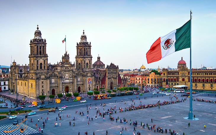 جاذبه های مکزیکوسیتی