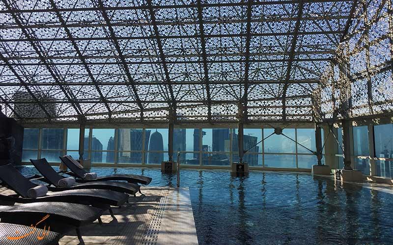 هتل اینترکنتینانتال د سیتی دوحه   استخر