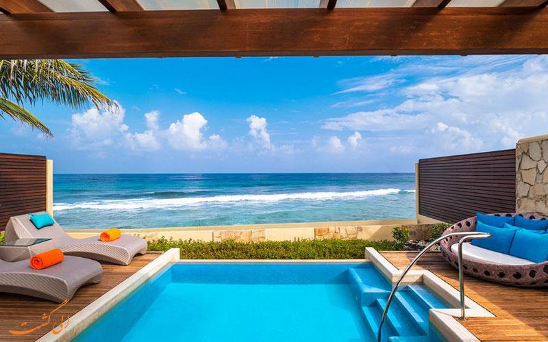 هتل شرایتون فول مون مالدیو | استخر خصوصی