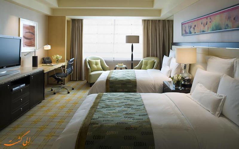 هتل جی دبلیو مریوت پکن | اتاق تویین