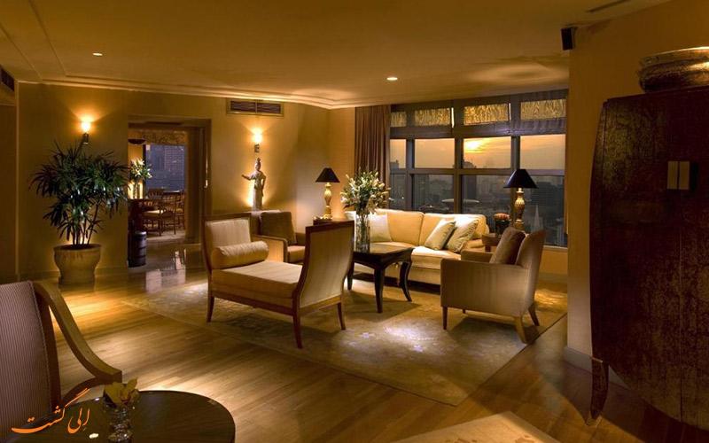 هتل کنراد سنتنیال سنگاپور | سوییت