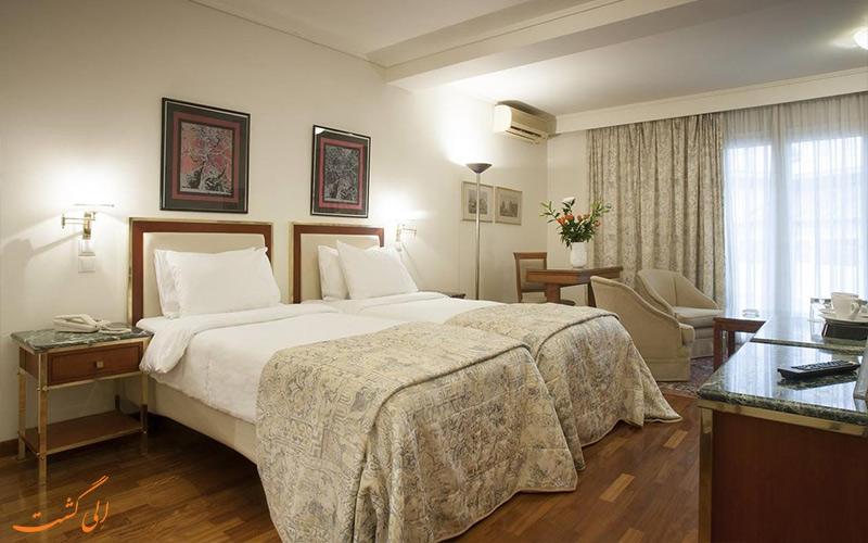 امکانات اتاق های هتل بست وسترن ایلیسیا آتن