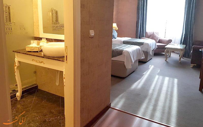 انواع اتاق های هتل گرند یوروپ باکو