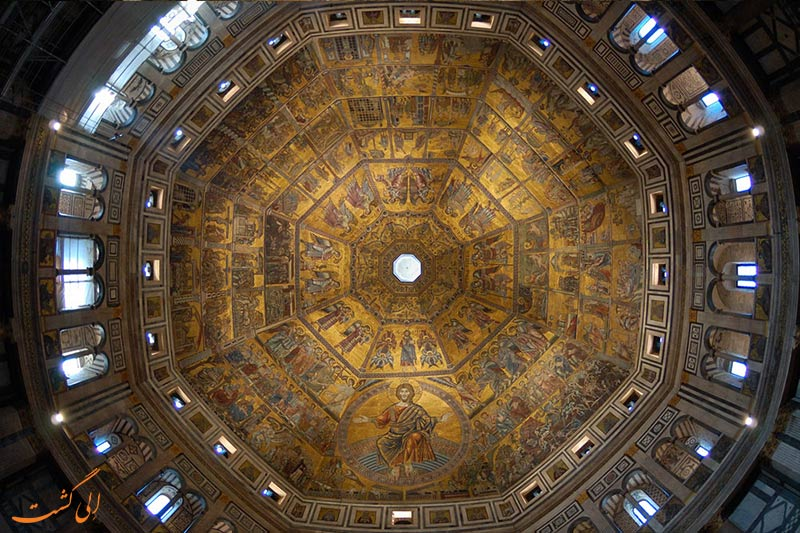 the baptistery of florence italy