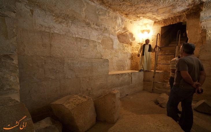 اکتشاف اهرام مصر