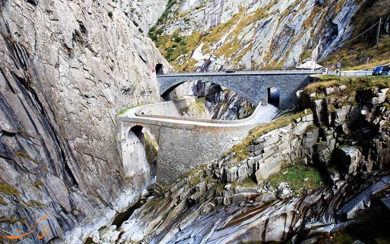 پل شیطان در سوئیس