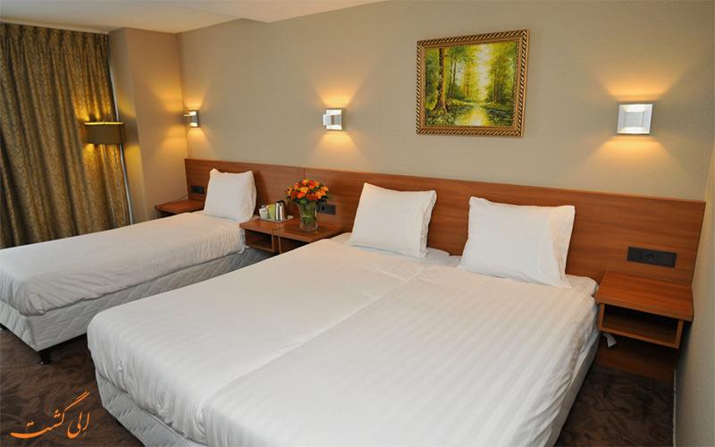 انواع اتاق های هتل سنترال پارک آمستردام