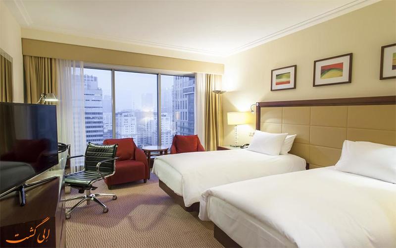 امکانات اتاق های هتل هیلتون ورشو