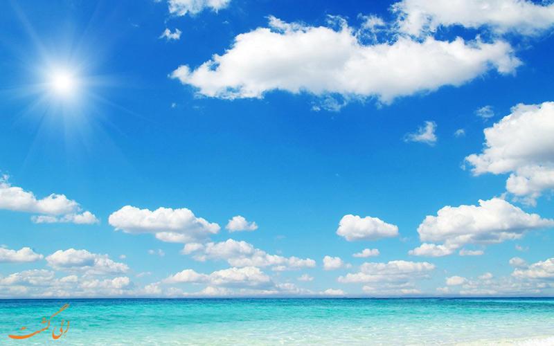 رنگ آبی آسمان