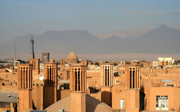بادگیره های شهر یزد