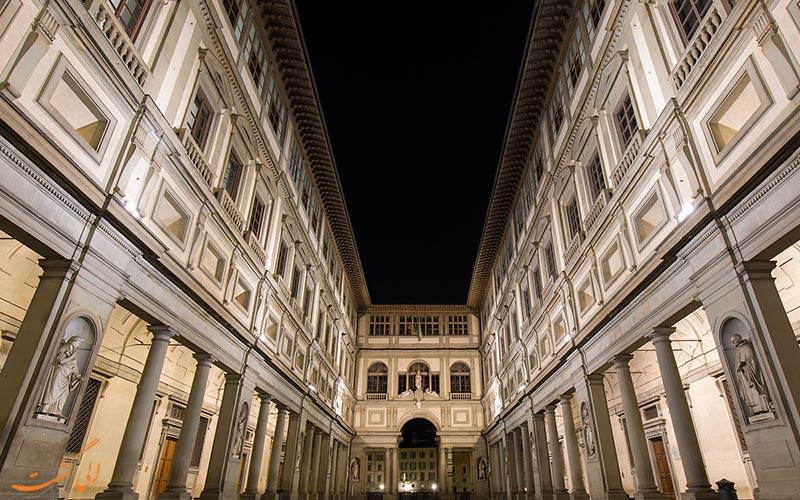 گالری اوفیتزی ایتالیا