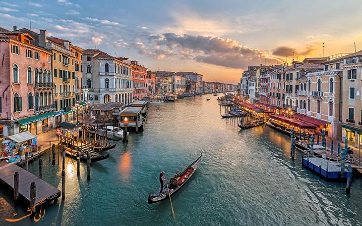 نمایی از شهر ایتالیا