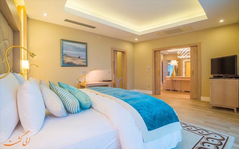 انواع اتاق های هتل پولمن باکو