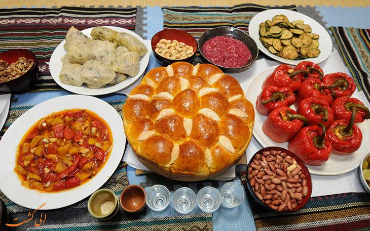 هزینه خورد و خوراک در کشور بلغارستان