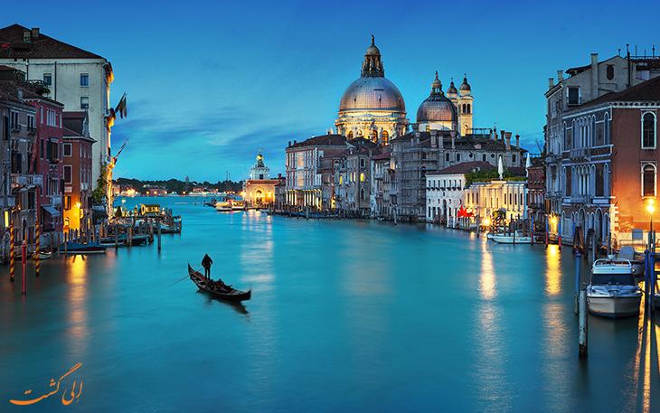سفر به شهر ونیز در ایتالیا