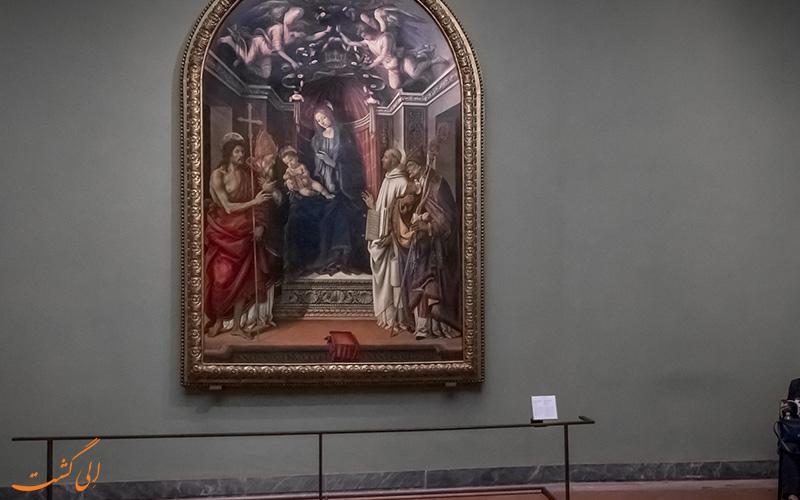 گردشگران موزه اوفیتزی فلورانس